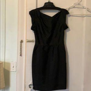NWT Phillip Lam black cocktail dress sz0